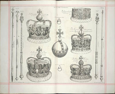 The Second Plate Of The Regalia Poster by British Library