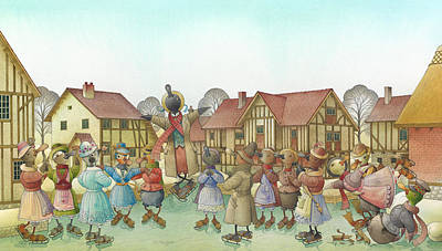 The Shaky Knight 01 Poster by Kestutis Kasparavicius
