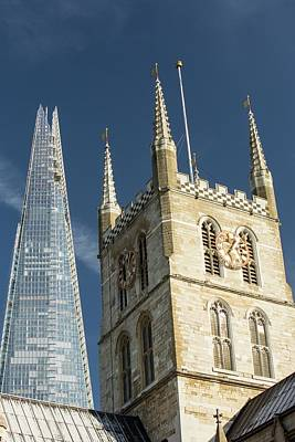 The Shard Rising Above London Poster by Ashley Cooper