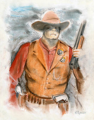 The Sheriff Poster by Harry Speese