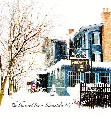 Poster featuring the photograph The Sherwood Inn by Margie Amberge