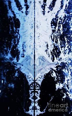 The Shroud Of Glacier Bay Poster