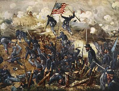 The Siege Of Vicksburg, May 18th - July Poster by Henry Alexander Ogden