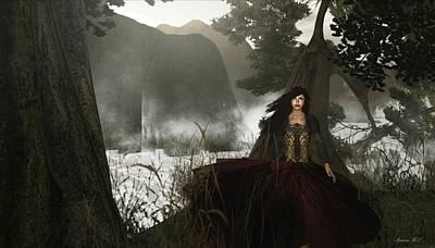 The Siren's Isle Poster by Amanda Holmes Tzafrir