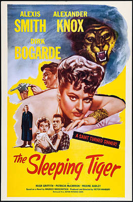 The Sleeping Tiger, Us Poster, Alexis Poster by Everett
