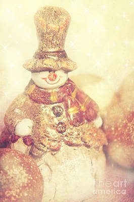 The Snowman Poster by Angela Doelling AD DESIGN Photo and PhotoArt