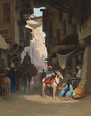 The Souk Poster by Celestial Images