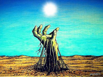 The Soul Is For The Truth Like The Root Is For The Land Poster by Paulo Zerbato