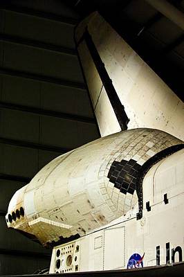 The Space Shuttle Endeavour At Its Final Destination 15 Poster