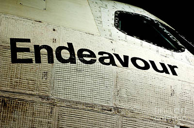 The Space Shuttle Endeavour At Its Final Destination 21 Poster