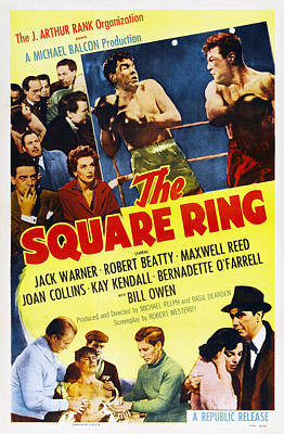 The Square Ring, Us Poster, Top Seated Poster by Everett