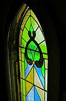 The Stained Glass Poster by Image Takers Photography LLC -  Laura Morgan