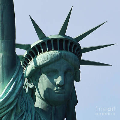 The Statue Of Liberty Poster by Robert Yaeger