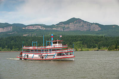 The Sternwheeler Columbia Gorge Poster by Greg Probst
