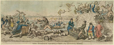 The Storming Of Monopoly Fort Poster by British Library