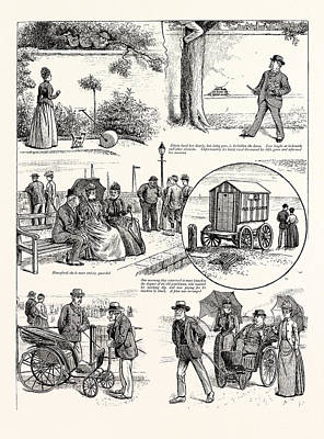 The Story Of A Seaside Elopement Edwin Loved Her Dearly Poster by English School