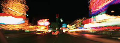 The Strip At Night, Las Vegas, Nevada Poster by Panoramic Images