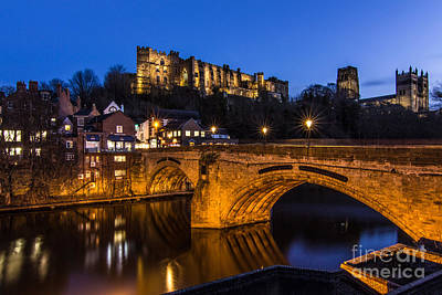 The Stunning City Of Durham In Northern England Poster