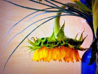 The Sunflower Speaks Poster by Deborah  Crew-Johnson