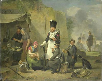 The Sutler, Anthonie Constantijn Govaerts Poster