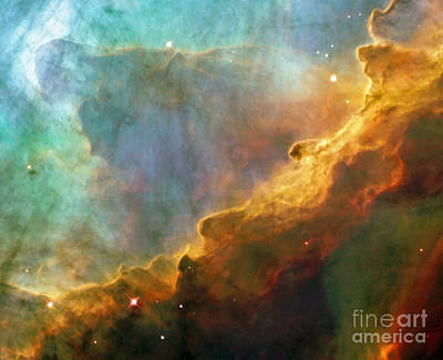 The Swan Nebula Poster by Rod Jones