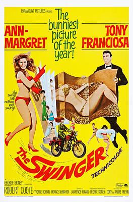 The Swinger, L-r Ann-margret, Anthony Poster by Everett