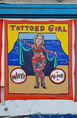 The Tattoed Girl Poster