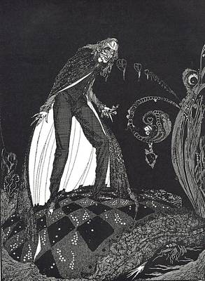 The Tell Tale Heart Poster by Harry Clarke