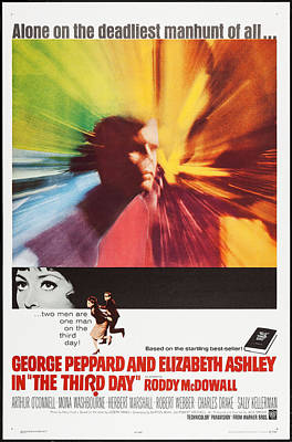 The Third Day, Us Poster Art, 1965 Poster