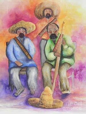 The Three Amigos Poster by Chrisann Ellis
