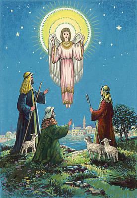 The Three Shepherds  Poster