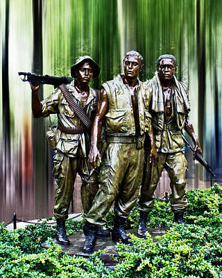 The Three Soldiers Poster by Tom Gari Gallery-Three-Photography