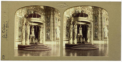 The Throne Palais Du Senat Paris France, Florent Grau Poster by Artokoloro