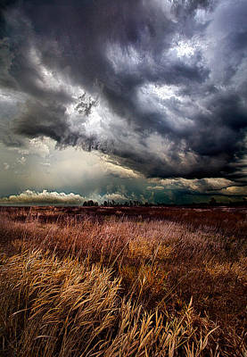 The Thunder Rolls Poster by Phil Koch