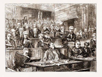 The Tichborne Case, Uk 1873, Crown Solicitor Mr. C. Barber Poster by Litz Collection
