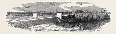 The Timber Viaduct From Coopers Bridge Poster