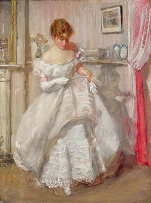 The Torn Gown Poster by Henry Tonks