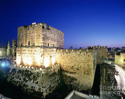 The Tower Of David, Jerusalem Poster by Rafael Macia