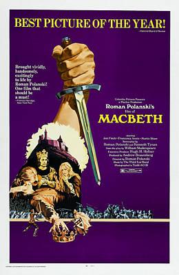 The Tragedy Of Macbeth, Aka Macbeth, Us Poster by Everett