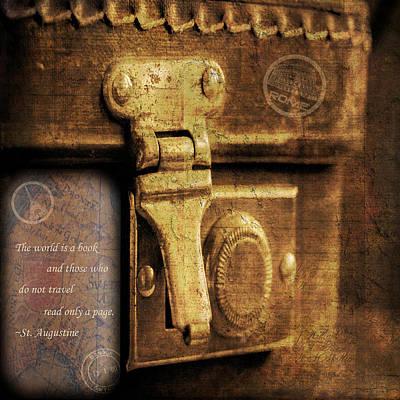 The Traveler Poster by KJ DeWaal