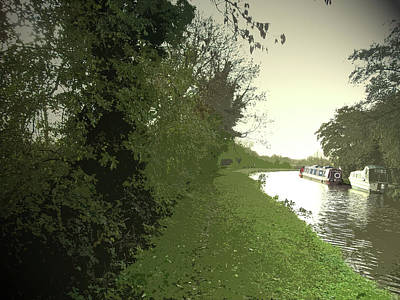 The Trent And Mersey Canal, The Waterway Makes The Briefest Poster