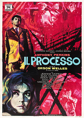 The Trial, Aka Il Processo, From Top Poster by Everett