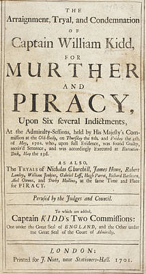 The Trial Of Captain William Kidd Poster
