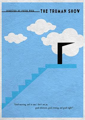 The Truman Show Poster by Ayse Deniz