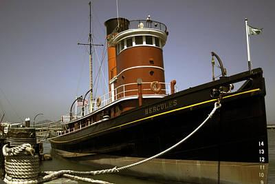 The Tug Boat Hercules Poster