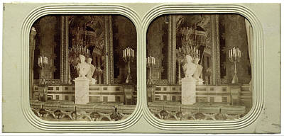 The Tuileries Throne Room France, Attributed To Florent Grau Poster by Artokoloro