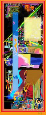 The Tzaddik Lives On Emunah 17 Poster by David Baruch Wolk