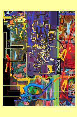 The Tzaddik Lives On Emunah 19 Poster by David Baruch Wolk