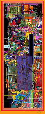The Tzaddik Lives On Emunah 9 Poster by David Baruch Wolk