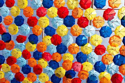 The Umbrella Sky Poster